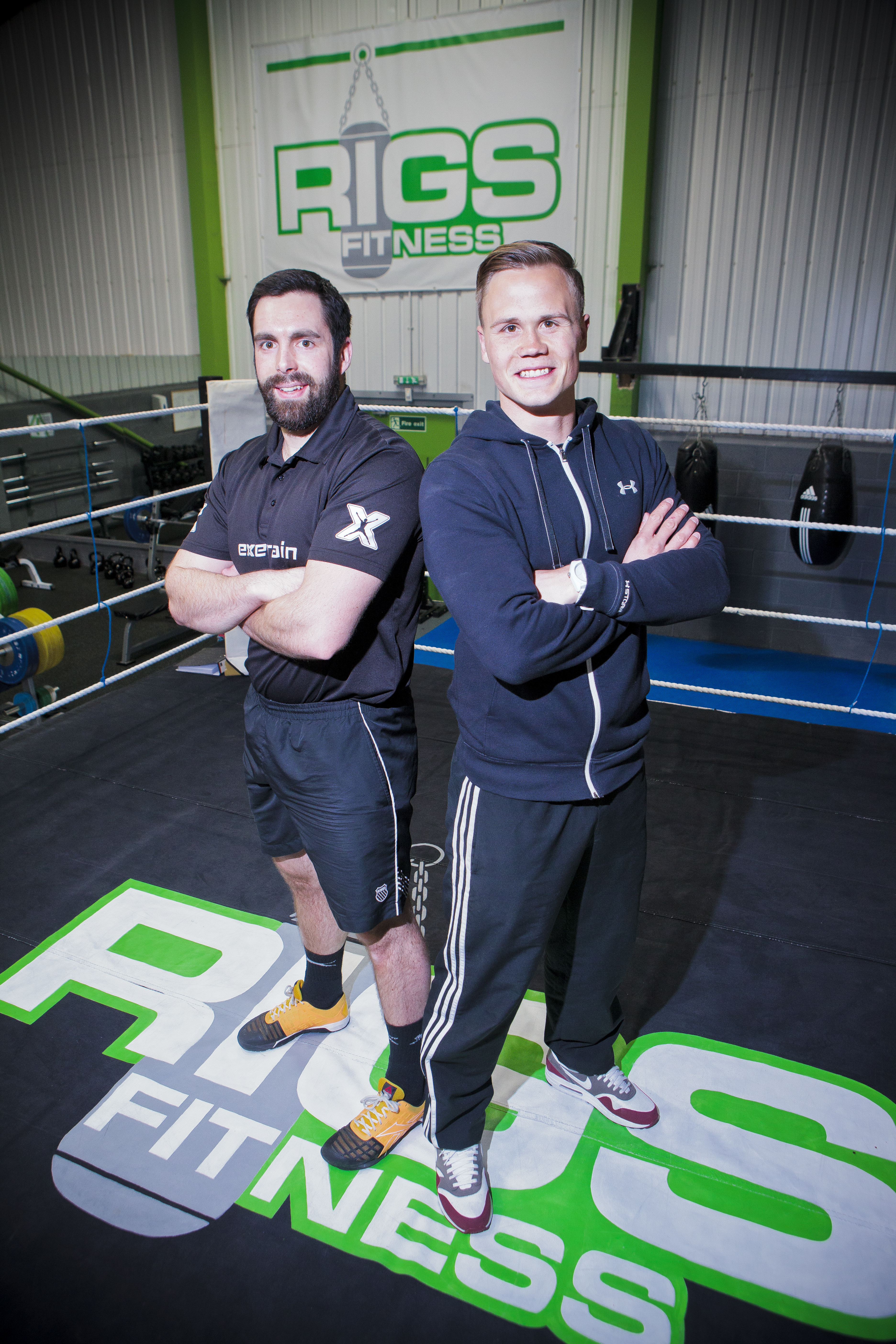 Dean Kent Exertrain and Sam Smith Rigs Fitness