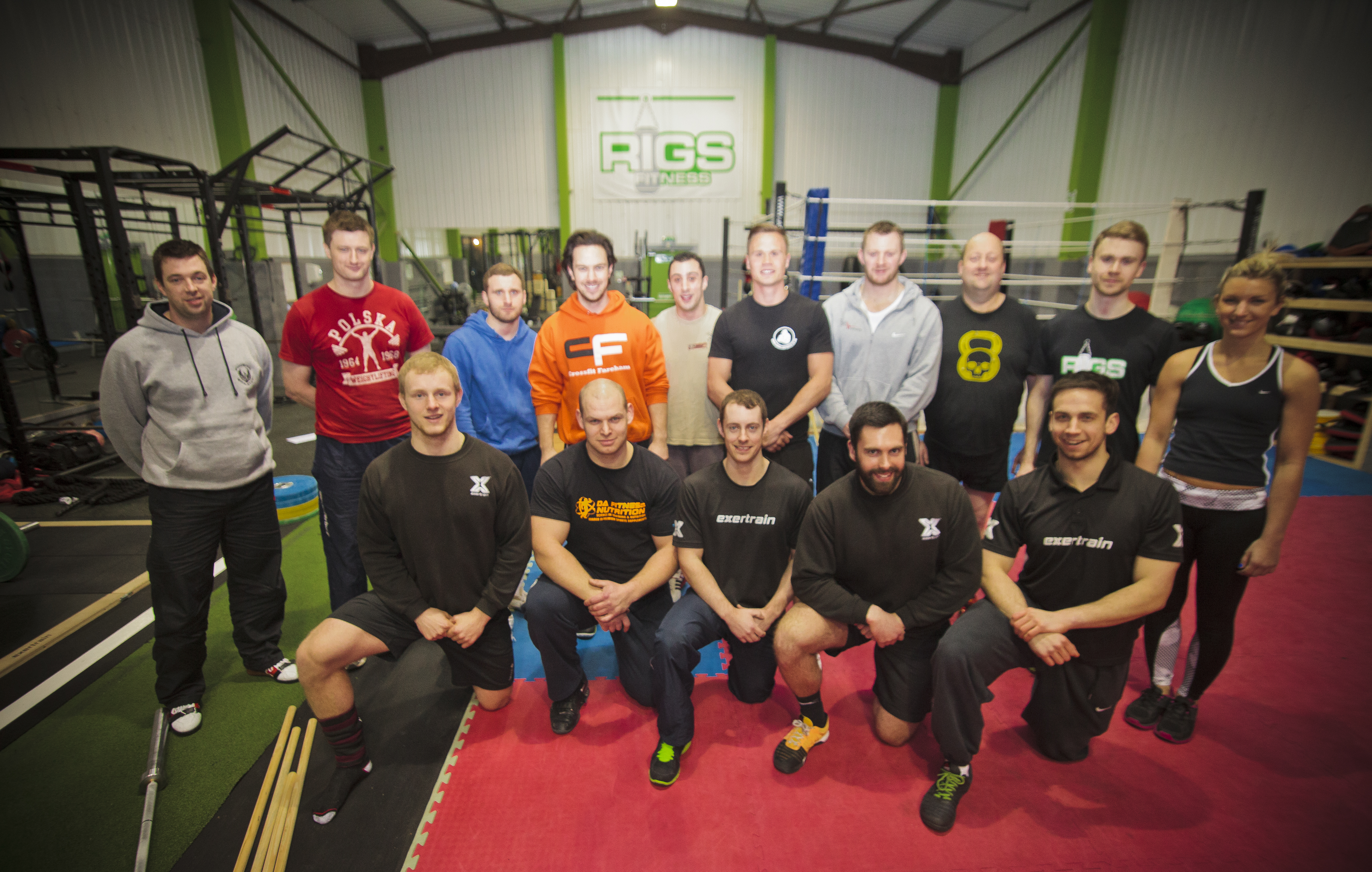Olympic Weightlifting, Exertrain at Rigs Fitness