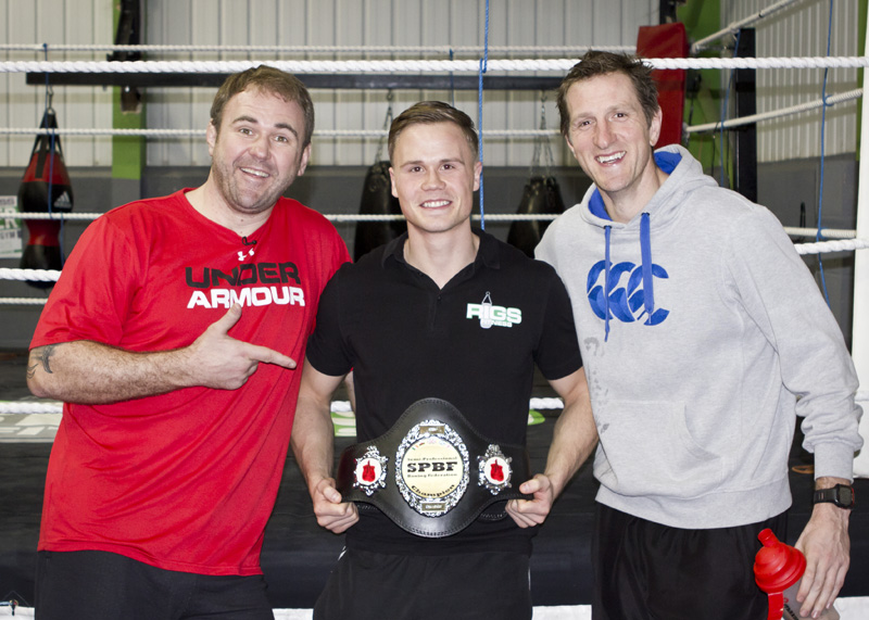 Scott Quinnell, Will Greenwood, School of Hard Knocks and Sam Smith at Rigs FItness