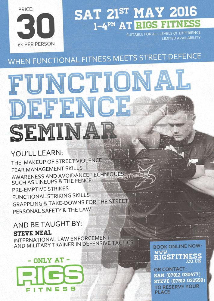 Functional Defence Seminar