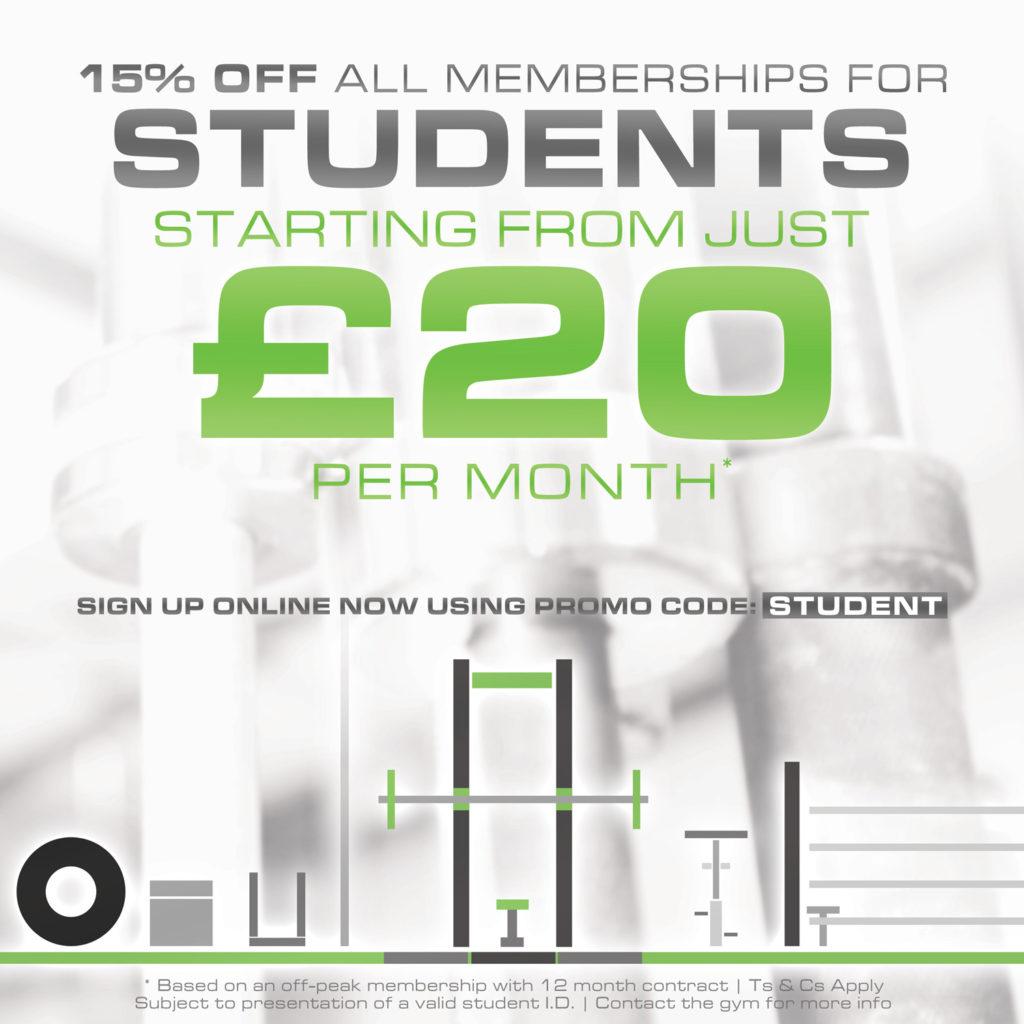 Student Gym Membership Birmingham