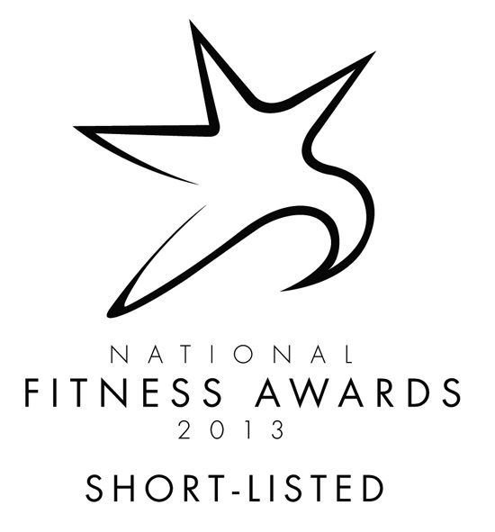 Rigs Fitness has been selected for the National Fitness Awards 2013 Short-List for the Best Newcomer Category
