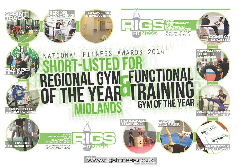 National Fitness Awards 2014 Rigs Fitness - Functional Training Midlands