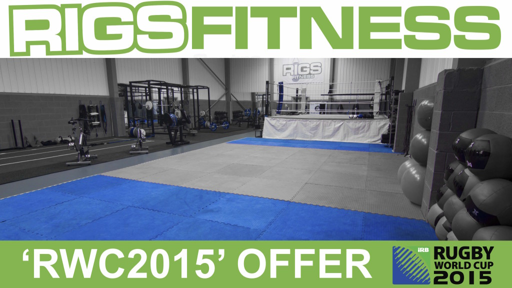 Rigs Fitness Rugby World Cup Offer