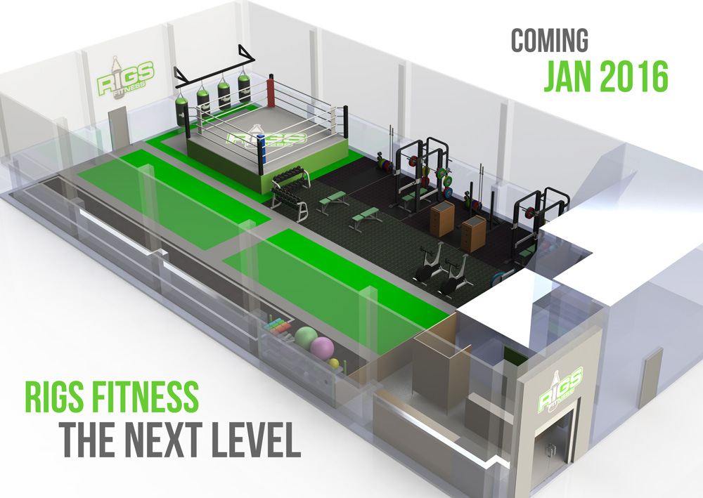 Free open weekend at Rigs Fitness