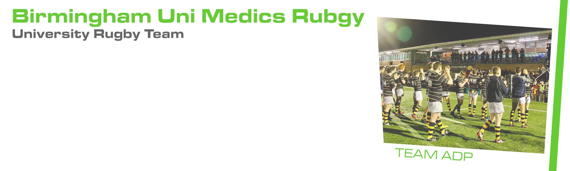Strength and Conditioning Birmingham University of Birmingham Medics Rugby