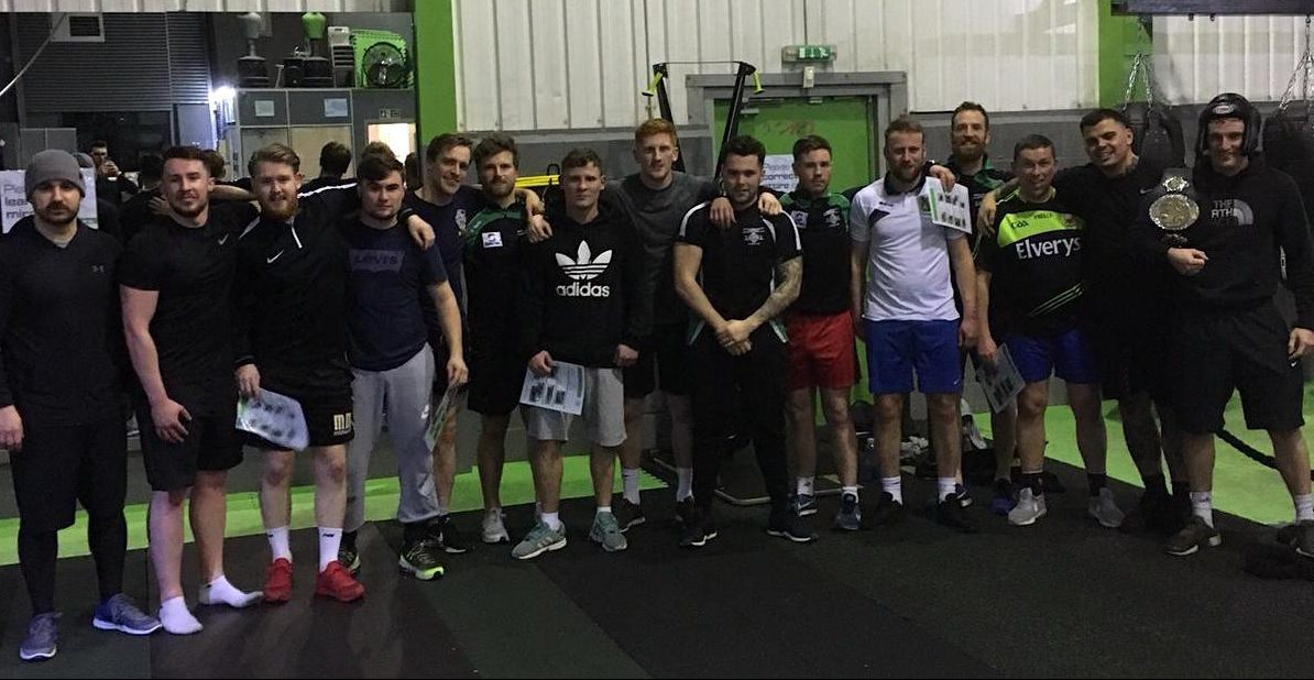 Sean McDermotts GFC at Rigs Fitness